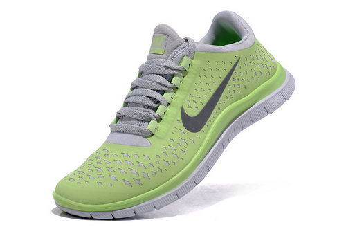 Nike Free Run 3.0 V4 Womens Lemon Yellow Grey Online